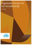 Algemene kosten in het bouwbedrijf 2014-2016