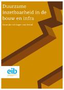 Duurzame inzetbaarheid in de bouw en infra
