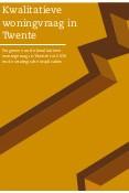 Kwalitatieve woningvraag in Twente
