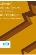 Effectief planaanbod en nationale bouwambities