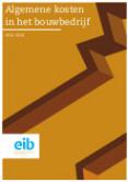 Algemene kosten in het bouwbedrijf 2012-2014