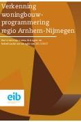 Verkenning woningbouwprogrammering regio Arnhem-Nijmegen 2013-2017